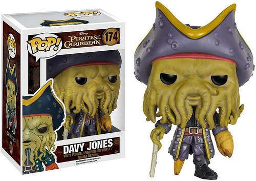 Funko Pirates of the Caribbean POP! Disney Davy Jones Vinyl Figure #174