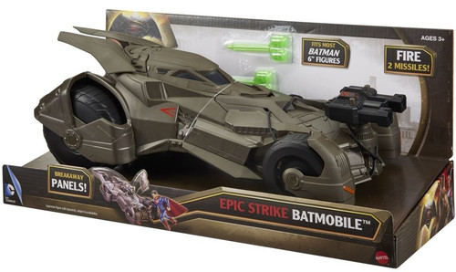 DC Batman v Superman: Dawn of Justice Epic Strike Batmobile 6-Inch Vehicle