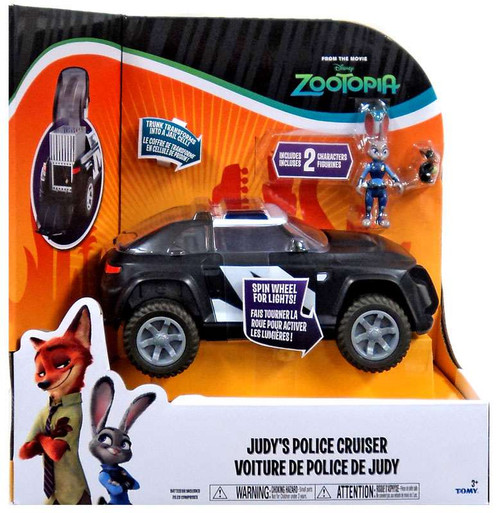 Disney Zootopia Judy's Police Cruiser Vehicle & Figure