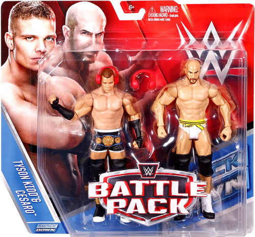 WWE Wrestling Battle Pack Series 39 Tyson Kidd & Cesaro Action Figure 2-Pack