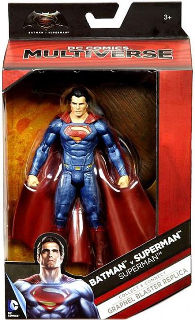 DC Batman v Superman: Dawn of Justice Multiverse Grapnel Blaster Series Superman Action Figure