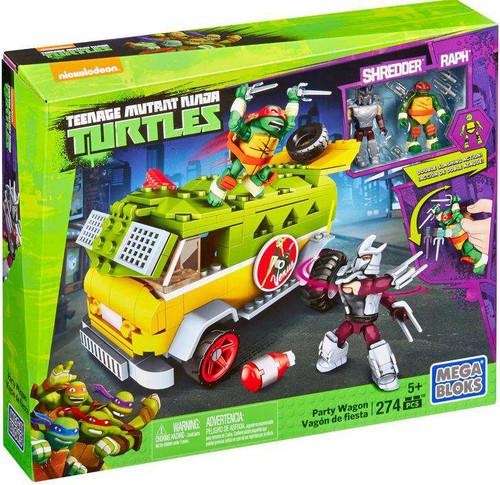 Mega Bloks Teenage Mutant Ninja Turtles Animation Party Wagon Set #29039