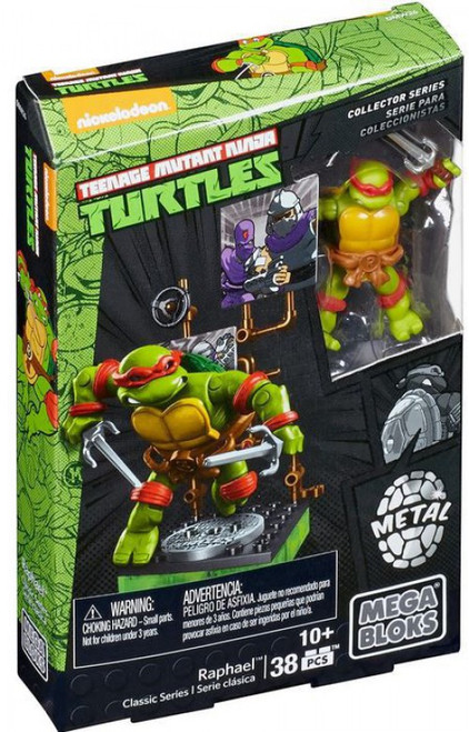 Mega Bloks Teenage Mutant Ninja Turtles Collector Raphael Mini Figure Set #28907