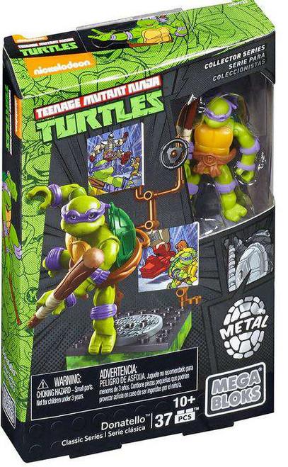 Mega Bloks Teenage Mutant Ninja Turtles Collector Donatello Mini Figure Set #28905