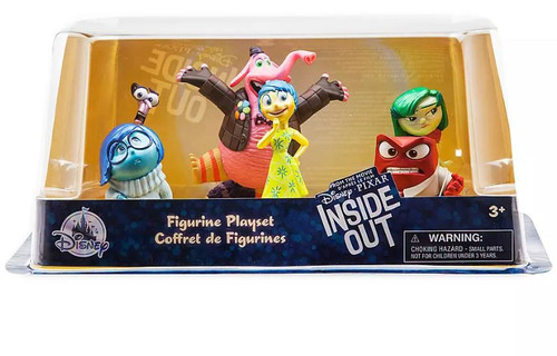 Disney / Pixar Inside Out Exclusive 6-Piece PVC Figure Play Set