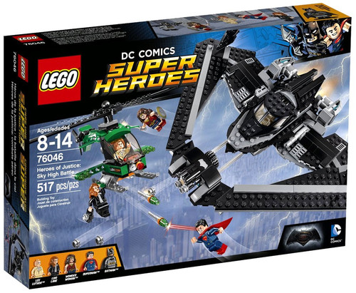 LEGO DC Universe Super Heroes Heroes of Justice: Sky High Battle Set #76046