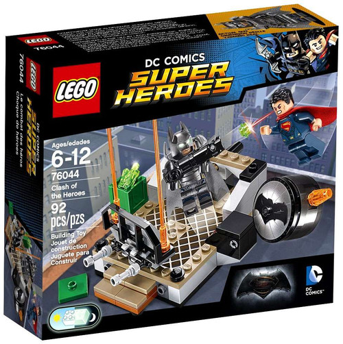 LEGO DC Universe Super Heroes Clash of the Heroes Set #76044