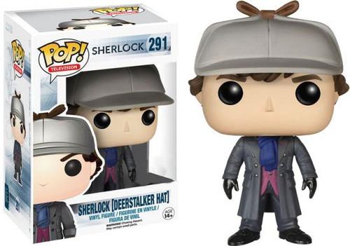 Funko POP! TV Sherlock Exclusive Vinyl Figure #291 [Deerstalker Hat]