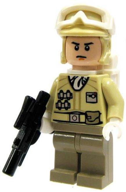 LEGO Star Wars Hoth Rebel Trooper Minifigure [Blaster, Goggles Up Loose]