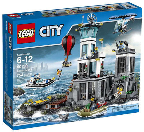 LEGO City Prison Island Set #60130