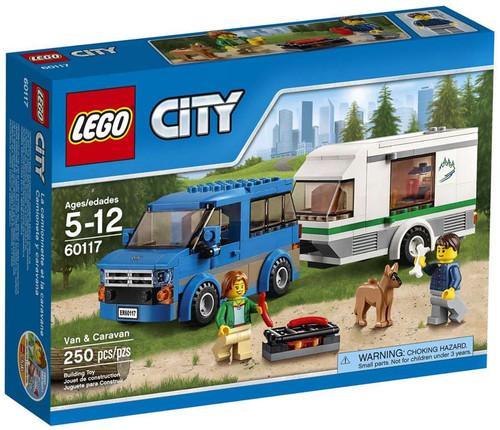 LEGO City Van & Caravan Set #60117