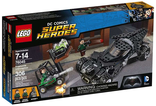 LEGO DC Super Heroes Kryptonite Interception Set #76045