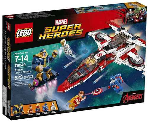 LEGO Marvel Super Heroes Avengers Assemble Avenjet Space Mission Set #76049