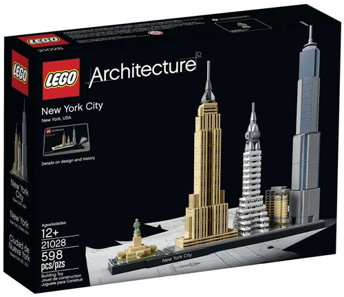 LEGO Architecture New York City Set #21028