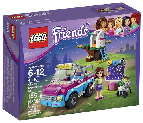 LEGO Friends Olivia's Exploration Car Set #41116