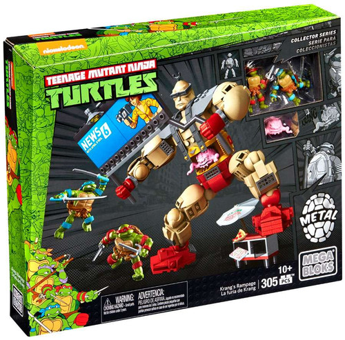 Mega Bloks Teenage Mutant Ninja Turtles Collector Krang's Rampage Set #28918