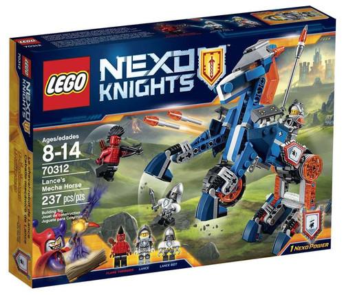 LEGO Nexo Knights Lance's Mecha Horse Set #70312
