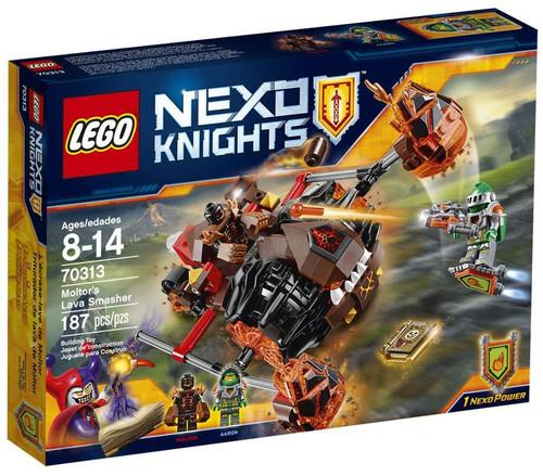 LEGO Nexo Knights Moltor's Lava Smasher Set #70313