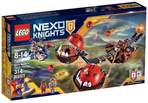 LEGO Nexo Knights Beast Master's Chaos Chariot Set #70314