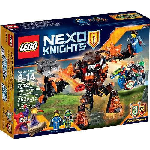 LEGO Nexo Knights Infernox Captures the Queen Exclusive Set #70325