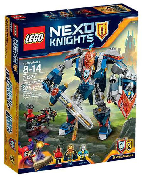 LEGO Nexo Knights The King's Mech Set #70327