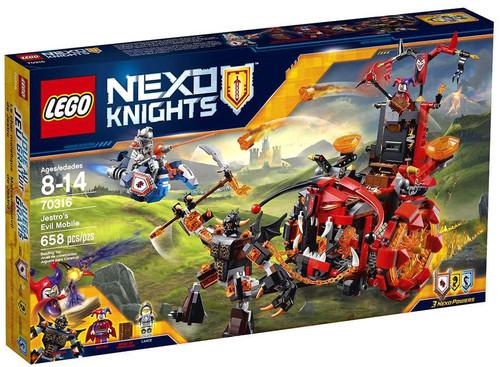 LEGO Nexo Knights Jestro's Evil Mobile Set #70316