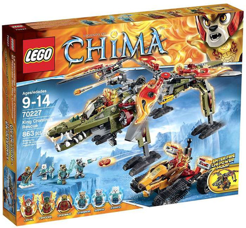 LEGO Legends of Chima King Crominus' Rescue Set #70227