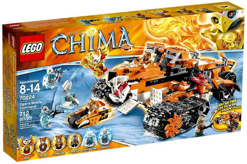 LEGO Legends of Chima Tiger's Mobile Command Set #70224