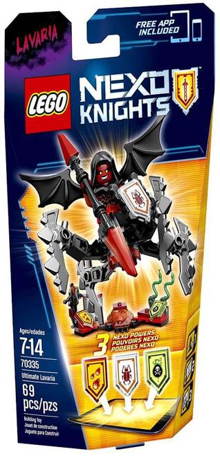 LEGO Nexo Knights ULTIMATE Lavaria Set #70335