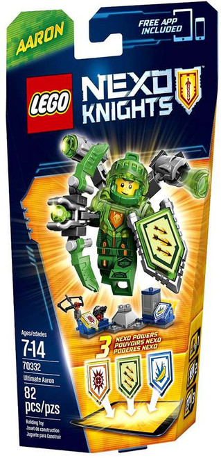 LEGO Nexo Knights ULTIMATE Aaron Set #70332