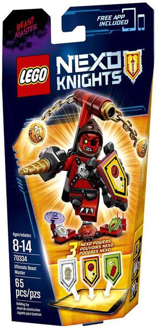 LEGO Nexo Knights Ultimate Beast Master Set #70334