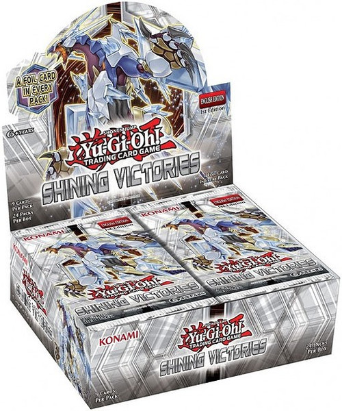 YuGiOh Trading Card Game Shining Victories Booster Box [24 Packs]