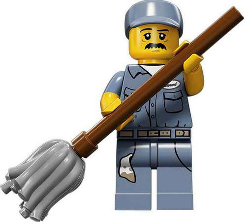 LEGO Minifigures Series 15 Janitor Minifigure [Loose]