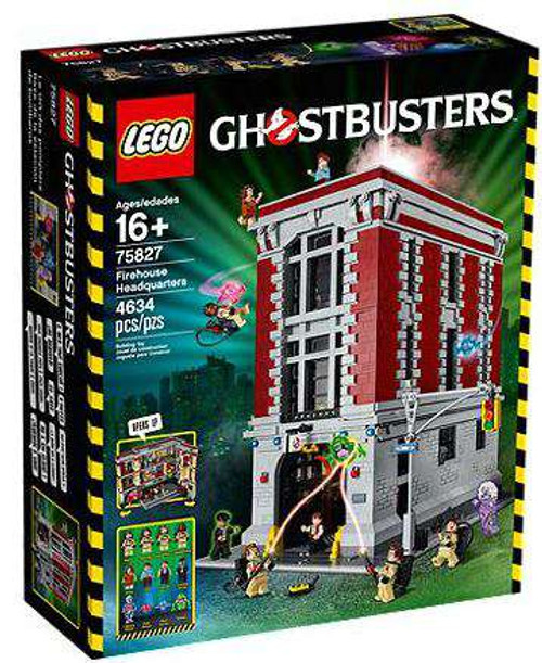 LEGO Ghostbusters Firehouse Headquarters Set #75827