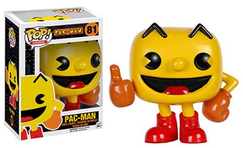 Funko Pac Man POP! Games Pac-Man Vinyl Figure #81