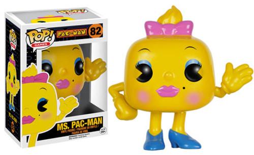 Funko Pac Man POP! Games Ms. Pac-Man Vinyl Figure #82