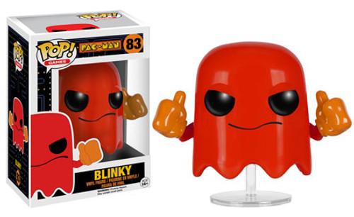 Funko Pac Man POP! Games Blinky Vinyl Figure #83