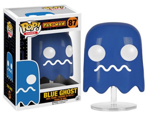 Funko Pac Man POP! Games Blue Ghost Vinyl Figure #87