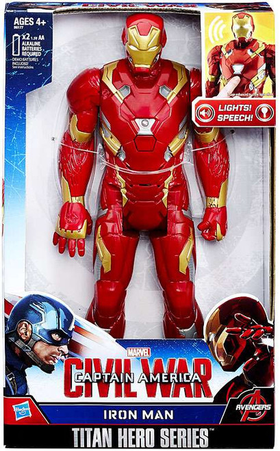 Captain America Civil War Iron Man Electronic Titan Action Figure