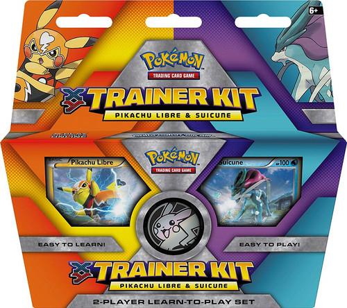 Pokemon Trading Card Game XY Pikachu Libre & Suicune Trainer Kit Starter Set [2016]