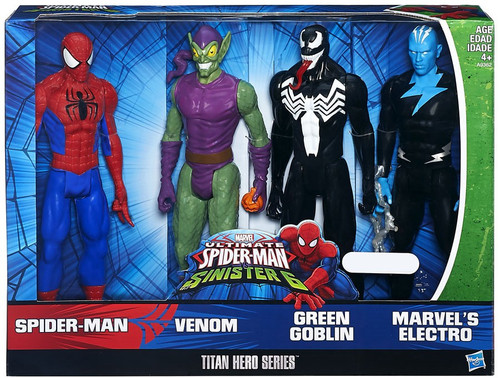 Ultimate Spider-Man vs Sinister 6 Titan Hero Series Exclusive Action Figure 4-Pack [Sinister 6]
