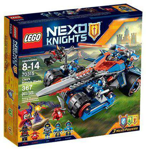 LEGO Nexo Knights Clay's Rumble Blade Set #70315