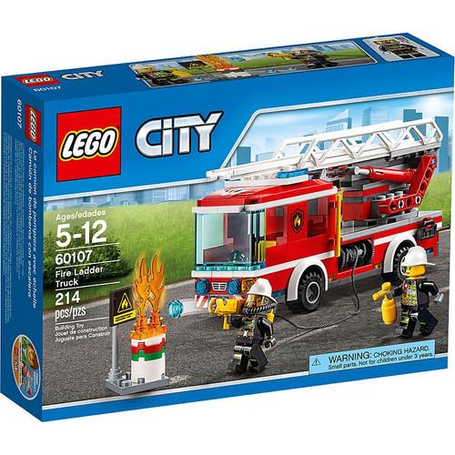 LEGO City Fire Ladder Truck Set #60107