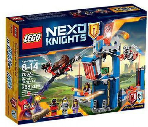 LEGO Nexo Knights Merlok's Library 2.0 Exclusive Set #70324