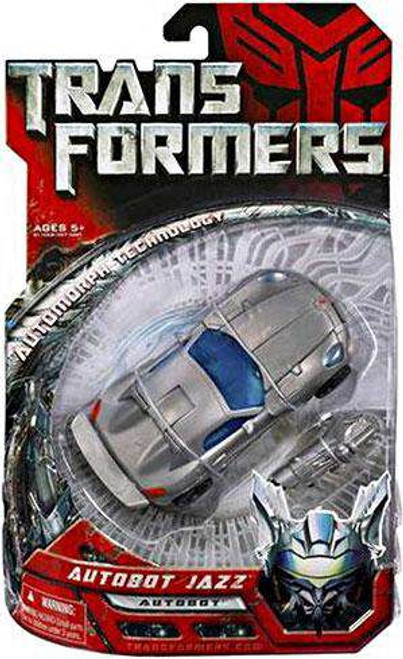 Transformers Movie Autobot Jazz Deluxe Action Figure [Damaged Package]