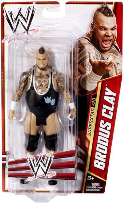 WWE Wrestling Series 27 Brodus Clay Action Figure #23 [Damaged Package]