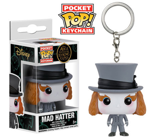 Funko Alice Through the Looking Glass POP! Disney Mad Hatter Keychain [Looking Glass]