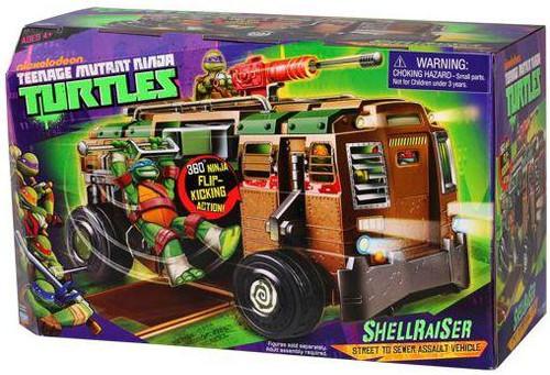 Teenage Mutant Ninja Turtles Nickelodeon Shellraiser Action Figure Vehicle [Damaged Package]