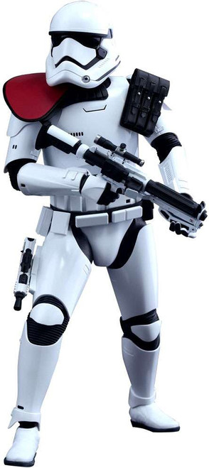Star Wars The Force Awakens Movie Masterpiece First Order Stormtrooper Officer Collectible Figure
