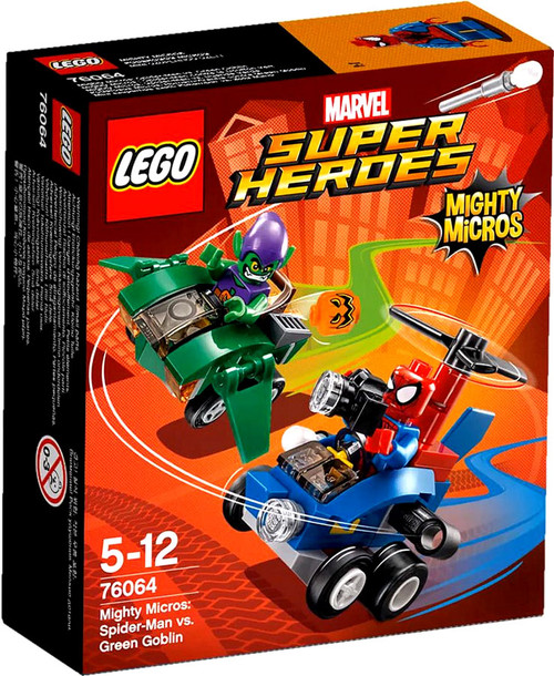LEGO Marvel Super Heroes Mighty Micros Spider-Man vs. Green Goblin Set #76064